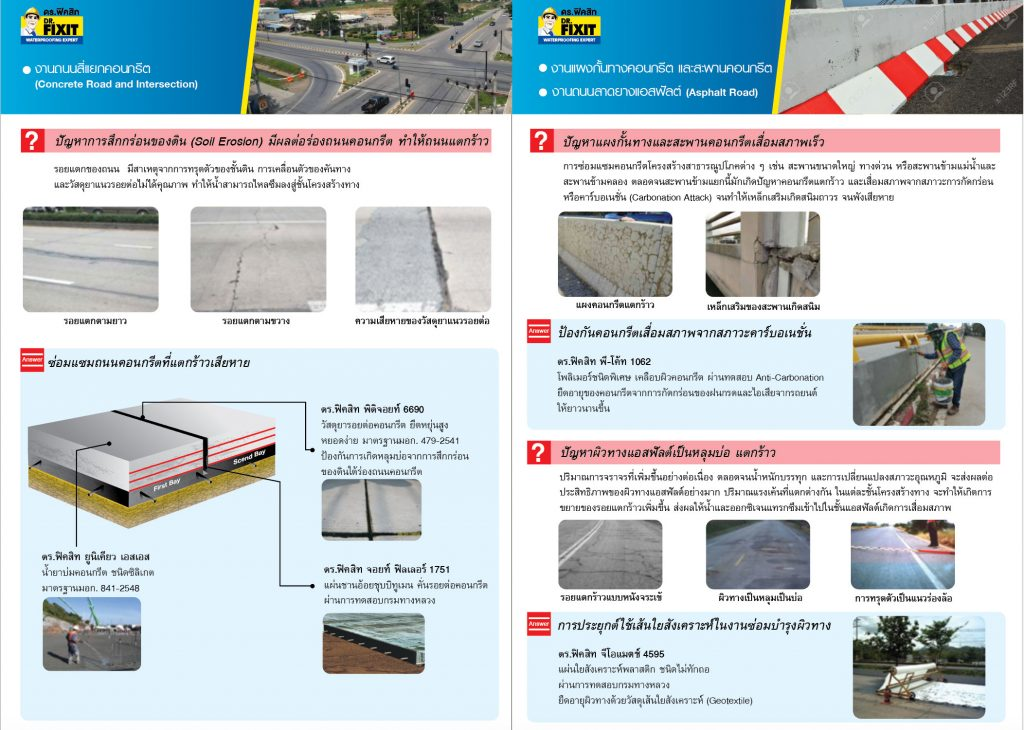 Product Solution for Roads and Bridges 2