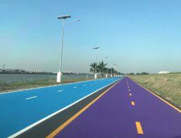 Happy And Healthy Bike lane