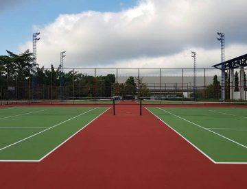 Tennis courts AFAPS Nakhon Nayok